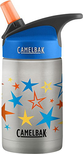 CamelBak eddy Kids Vacuum Stainless Waterbottle, Retro Stars, 12 oz