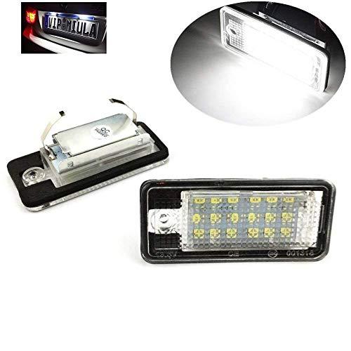 2PCS motoeye CanBus License Number Plate LED Lamp Light License Plate Lights