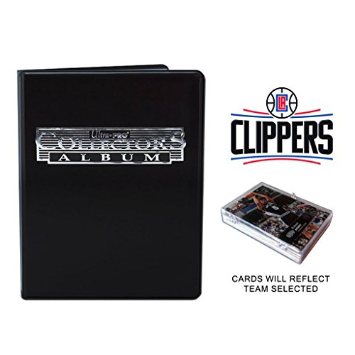 (Los Angeles Clippers Basketball Cards w/ Collector's Mini Binder & Pages)