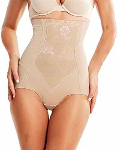 dbee286e0f8 AOBRITON Women Panties Control Pants Waist Modeling Strap Slimming  Underwear Shapewear Waist Trainer Body Shaper Corset