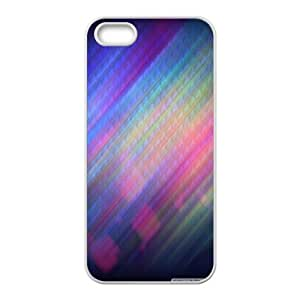 Colorfulll IPhone 5,5S Cases, Iphone 5s Cases for Teen Girls Cheap Protection Okaycosama - White