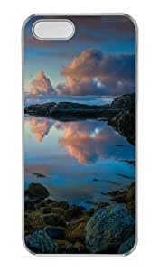 iPhone 5S Case, iPhone 5S Cases - Norwegian Coast Polycarbonate Hard Case Back Cover for iPhone 5/5S Transparent