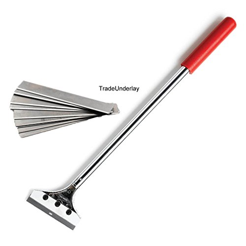 4 Scraper (Floor scrapers Deluxe 4 Inch Blade Flooring Scraper 18 Inch)