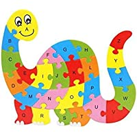 DAYONG Wooden 3D Puzzle Jigsaw Wooden Toys For Children Cartoon Animal Dinosaur