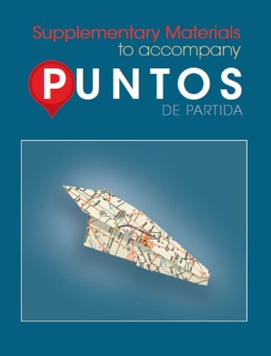 Download By Sharon Foerster LSC Supplementary Material t/a Puntos de Partida (8th Edition) PDF
