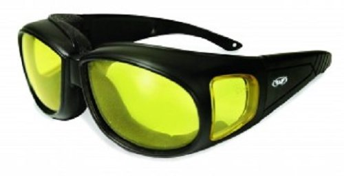 Motorcycle Goggles Over Glasses - 7