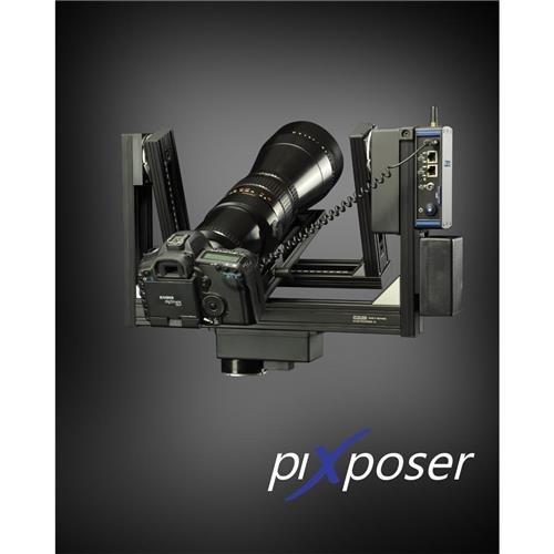 Clauss RODEON piXposer 360 Gigapixel Panoramic Head, 33.06 lb Capacity, 800mm or 2x400mm Focal Length, LAN/WLAN Web Interface Control