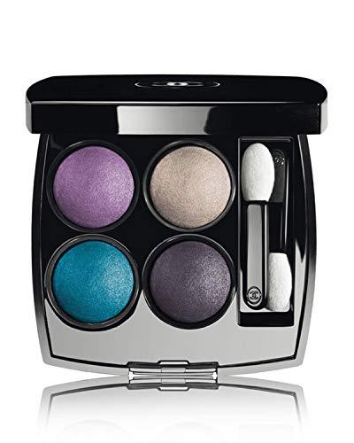 Multi Blush Cream Compact - LES 4 OMBRES - COLLECTION LA SUNRISE Multi-Effect Quadra Eyeshadow Color: 262 Tisse Beverly