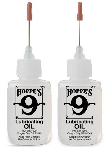 Hoppe's 3060 No. 9 Lubricating Oil, 14.9 ml Precision Bottle, Pack of 2