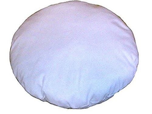 Gokul Handloom 32 Inches Diameter Round Meditation Seating Ottoman Decorative Sham Stuffer Round Floor Pillow Insert by Gokul Handloom