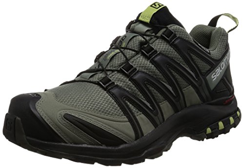 Salomon Men's XA Pro 3D CS Waterproof Trail-Runners, Castor Gray, 12 M US