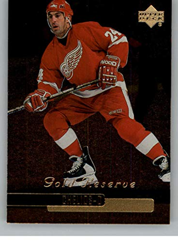(1999-00 Upper Deck Gold Reserve Official NHL Hockey Card #223 Chris Chelios Detroit Red Wings)