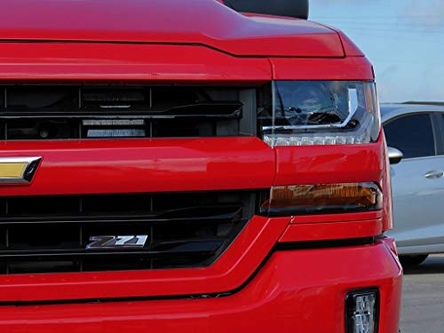 Matte Black Z71 Grill Vinyl Decal Inlay for The Z Logo On Your 2014-2018 Chevy Silverado LS LT LTZ 1500 2500 3500 by CAO ()