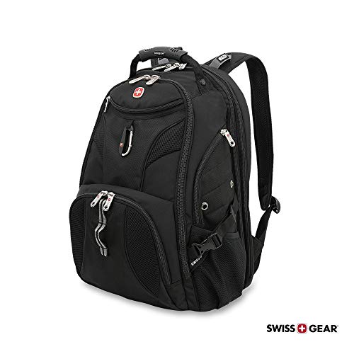 SwissGear 1900 Scansmart TSA Laptop Backpack - Black by Swiss Gear