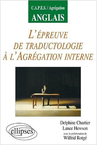 Lire en ligne L'épreuve de traductologie à l'agrégation interne pdf, epub ebook