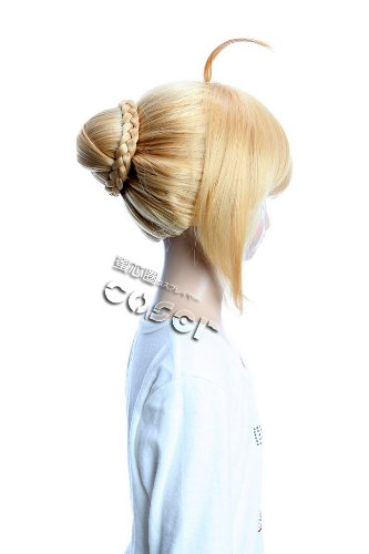 Amazon.com : fate/stay night saber GH153 34cm 13.3inch 263g Lolita Wig Fashion Wig Cosplaywig Coserwig Anime Party Wig Free Shipping : Hair Replacement Wigs ...