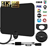 Best HDTV Antennas - HDTV Antenna, Ultra Thin Digital, 4K Free TV Review