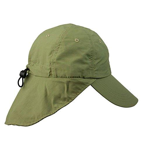 Conner Hats Men's Legionnaire Supplex Sun Cap, Khaki, OS from Conner Hats