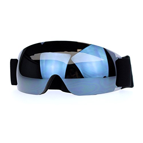 Snowboard Ski Rimless Sports Goggle Black Mirror Antifog Double - Sunglasses Ski For Women Goggles