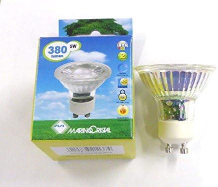 Led Dicroica 38 VerreAmazon 5w Gu10 Toute Lampe 4000° Cob K Lm 330 w08nOkP