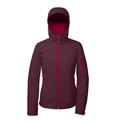 Outdoor Jacket Research Fall - Outdoor Research Women's Transfer Hoody, Pinot, Medium