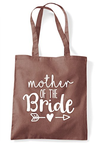 Shopper Wedding Bride Statement Heart Arrow Bag Of Chestnut Tote Mother The cW7nTSz