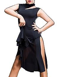 Latin dance dress Sexy dress Cha Cha skirts Ballroom skirt Waltz skirt M3068