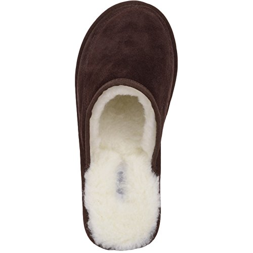 Sole Adulto With Lining Wool braun Marrone Rubber Snugrugs Pantofole Suede – Unisex And FZfppY
