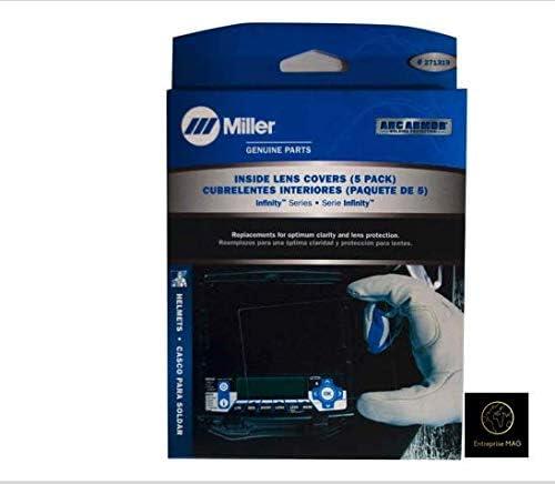 Miller Performance Helmet Inside Lens Cover 770237 pack 5