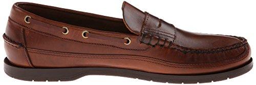 Sebago Heren Sloep Slip-on Loafer Bruine
