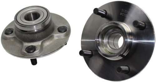 Brand New (Both) Rear Wheel Hub and Bearing Assembly for Nissan Altima, Axxess, Stanza 4 Lug W/o ABS (Pair) 512016 x2 (Nissan Bearing Wheel Stanza)