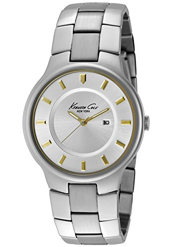Kenneth Cole New York Bracelet Collection Silver Dial Men's watch #KC3435
