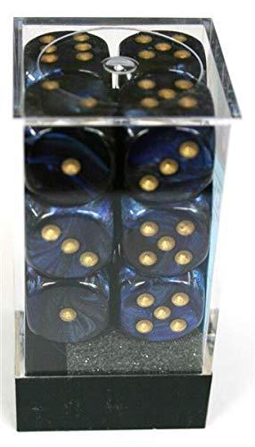 Chessex Vortex Bright Green W6 16mm Würfel Set Spiele