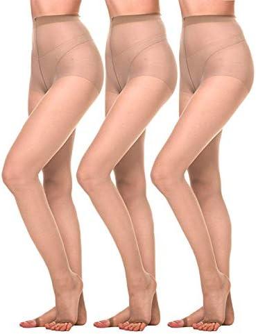 Amoretu Women Toeless Pantyhose Tights