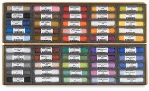 Mount Vision Pastels - Greg Biolchini Workshop Set 50 Handmade Soft Pastels by Mount Vision