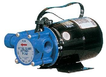 Little Giant 555502 360-Gallon Per Hour Pony Pump Series Non-Submersible, Self-Priming Transfer Pump - Little Giant Transfer Pump