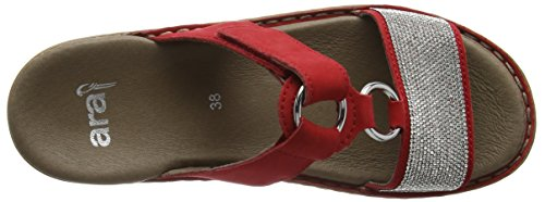 Ara Ladies Hawaii Mules Red (rosso 07)