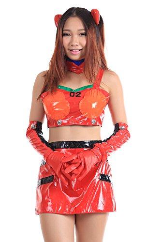 De-Cos Neon Genesis Evangelion Soryu Asuka Langley Racing Outfit 1st (Asuka Evangelion Costume)