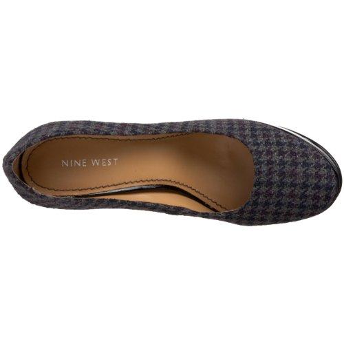 NINE WEST - Zapatos De Tacón Mujer - Pump NWAMPLE DK GREY MU Tacón: 10.5 cm