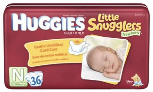 Huggies Supreme Little Snugglers Newborn