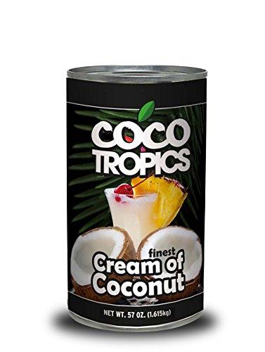 Coco Tropics Cream of Coconut (57 oz-Pack of 12) by Coco Tropics (Image #2)