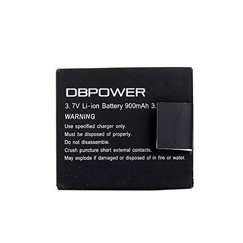 DBPOWER 900mAh Rechargeable SJ4000 Battery
