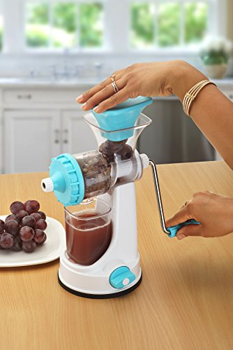 Ganesh Fruit & Vegetable Steel Handle Juicer, Blue 4