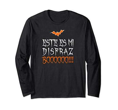 Funny Spanish Halloween Long Sleeve T-Shirt Fall Season Gift -