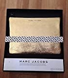 Marc Jacobs Metallic Leather Pouch Gold Bag by Neiman Marcus