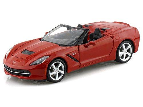 (2014 Chevy Corvette Stingray Convertible 1/24 Red)