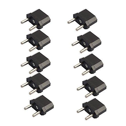 Cywulin US/AU (Canada/Australia) To EU (Europe) Converter AC Power Plug Travel - Optics Canada