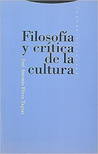 filosofia de la cultura