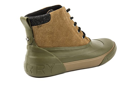 Sperry - Botas de Piel para hombre verde verde 42