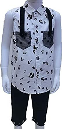 Jojo White Shirt For Girls 17 Us